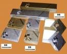 auksinių ir sidabrinių dėžučių kolekcija